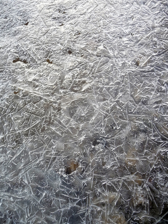 Thin ice texture stock photo,  by J.G. Byers