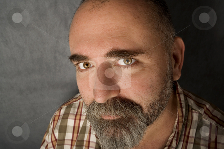 Man in his 40s stock photo, Close up of friendly man in his 40s. by Scott Griessel