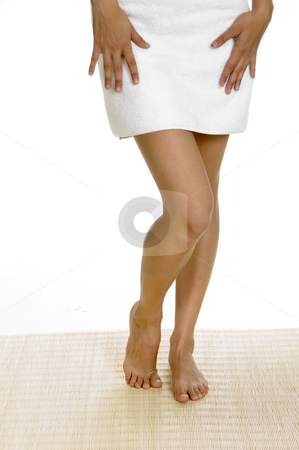 Legs of white woman stock photo, Legs of young white woman by Imagery Majestic