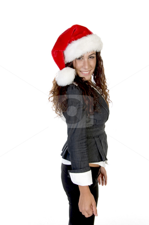 Female posing standing stock photo, Female posing standing with white background by Imagery Majestic