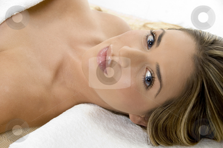 Charming young model looking you stock photo, Charming young model looking you by Imagery Majestic