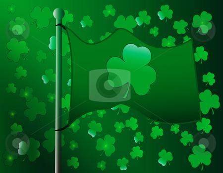 Saint Patricks day stock photo, Abstract saint patricks day celebration by R Deron