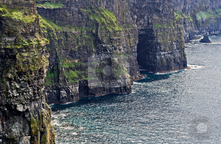 The Cliffs of Moher stock photo, The Cliffs of Moher in Ireland by Stephen Bonk