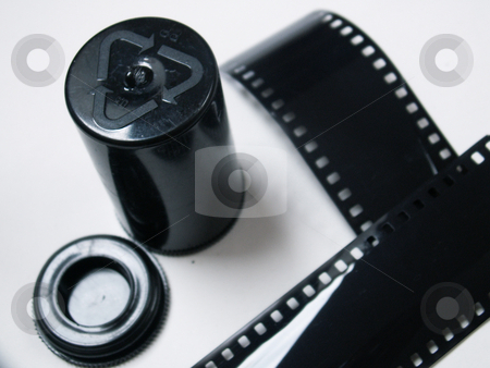 Cine-film stock photo,  by Sarka