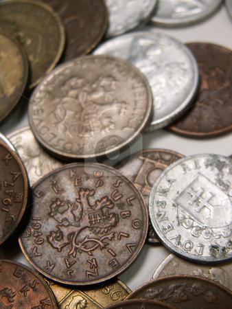 Coins stock photo,  by Sarka