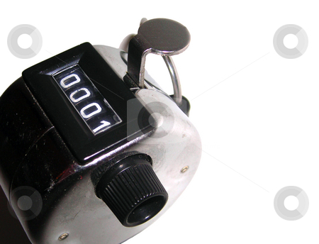 Clicker stock photo, A close detail of a metallic clicker isolated on white by Tudor Antonel adrian