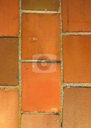 Antique Glazed Brick stock photo,  by Tom and Beth Pulsipher