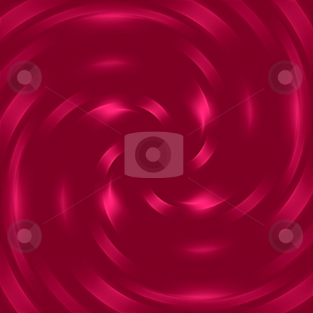 Red swirl pattern stock photo, Symmetric texture of deep red shiny swirl by Wino Evertz