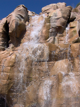 Rocky Waterfall stock photo, A nice waterfall. by Todd Arena