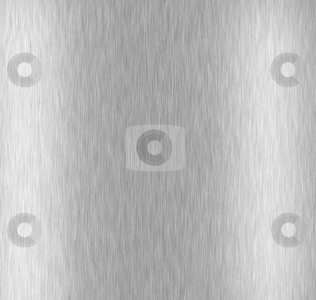 Brushed Aluminum Metal stock photo, A brushed metal background texture. by Todd Arena