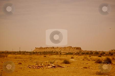 The city of jaisalmir stock photo, Captured from the Thar desert.... by Piero Biondo