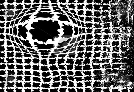 Ink Blots dirty grunge splatter blotch background stock vector clipart, Interpret this Rorschach test background with black ink splatter blotches of grunge copyspace. by Michael Brown