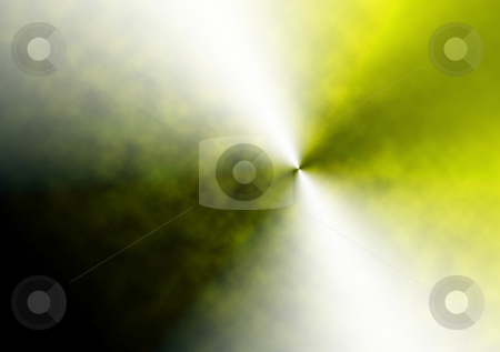 Yellow Explosion stock photo, Abstract yellow explosion by R Deron