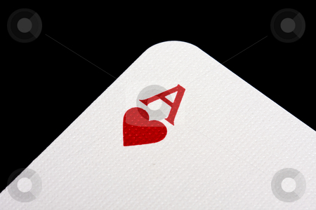 Ace stock photo, Ace of Hearts by Ingvar Bjork