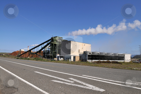 Power plant stock photo, Electrical generation facility, Fairhaven, California by Harris Shiffman