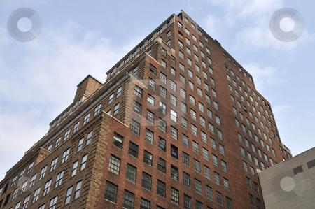 Office building stock photo, Old brick office building, midtown Manhattan, New York, New York by Harris Shiffman