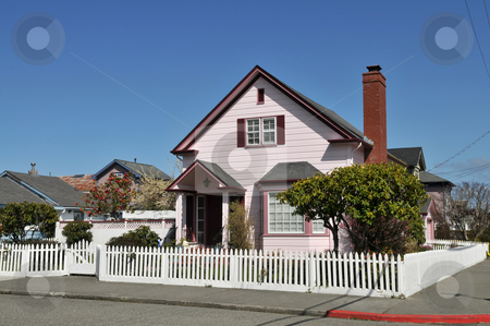 Victorian stock photo, Ornate Victorian home, Ferndale, California by Harris Shiffman