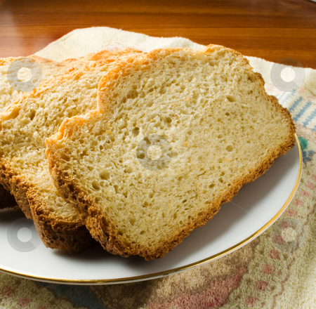 Bread stock photo, Fresh baked bread sliced ready to eat or serve by Ira J Lyles Jr