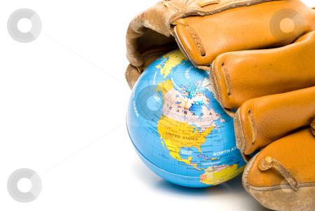 Baseball World stock photo, The ever so wonderful world of International baseball. by Robert Byron