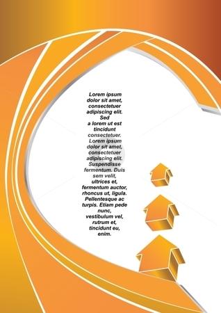 Letterhead stock vector clipart, Vector design of Business letterhead template by Milsi Art