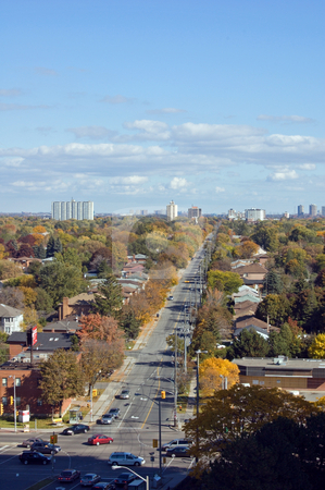 Fall stock photo, Streets of North York, Ontario by Pavel Cheiko
