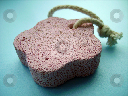 Pumice Stone stock photo, A close detail of a pink Pumice Stone by Tudor Antonel adrian
