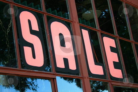 Sale Sign  stock photo,  by Michael Felix