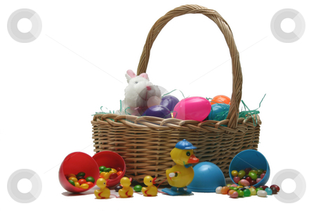 Easter Backet stock photo,  by Ralph Muzio