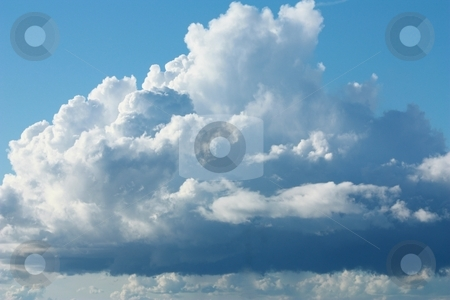White Clouds stock photo, White clouds by Gregory Dean