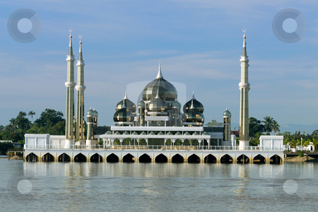 Crystal Mosque stock photo, Crystal Mosque by Jaggat Images