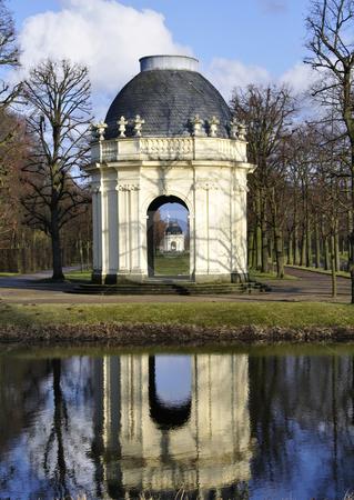 Pavillon herrenhausen stock photo, Pavillon at the herrenhausen gardens in hannover by Nils Volkmer