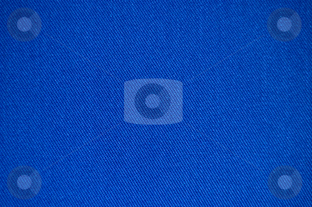 Blue fabric texture stock photo, Blue brushed cotton fabric texture by Peter Cox