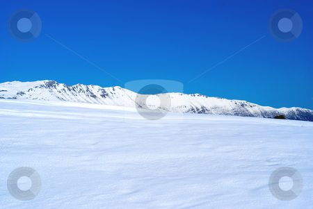 Winter stock photo, Site of Calern in the south east of Alps in winter (french riviera). by Serge VILLA