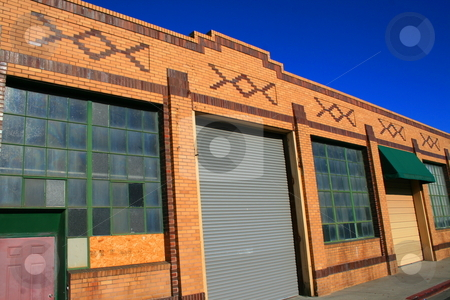 Old Warehouse stock photo,  by Michael Felix