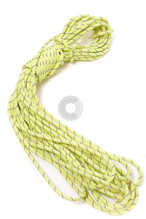 Climbing rope stock photo, Rope for climbing and canyoning by Paulo Resende