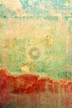 Distressed Wall Background stock photo, Old textured wall background ready for your design work by Paul Turner