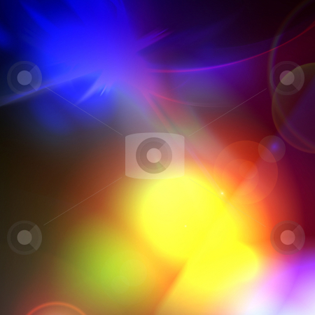 Colorful Rainbow Backdrop stock photo, A colorful and abstract glowing background texture. by Todd Arena