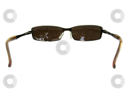 Sunglasses stock photo, Some brown unisex sunglasses isolated over white. by Todd Arena