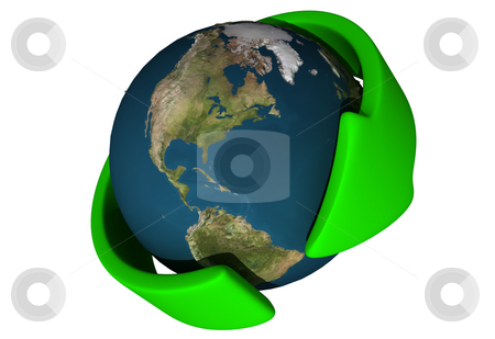 Global stock photo, Global environmental concept by Magnus Johansson