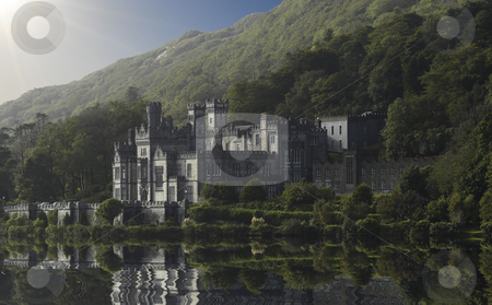 Castle Irland stock photo, Old castle by a lake by Magnus Johansson