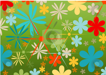 Floral background stock photo, Floral background by Magnus Johansson