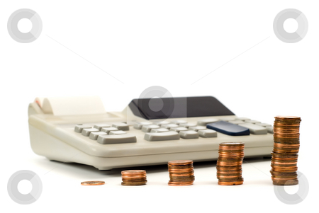 Income Tax stock photo, Concept image of income tax and the calculations that go with it by Richard Nelson