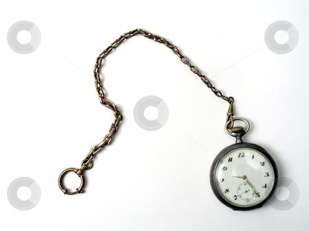 Old pocket watch stock photo, Old pocket watch. by Ingvar Bjork