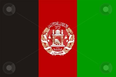 Afghanistan Flag stock photo, 2D illustration of Afghanistan flag color vector by Tudor Antonel adrian