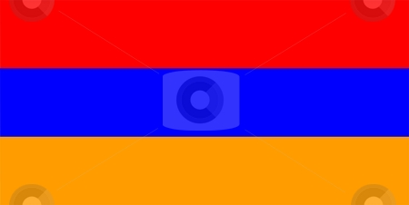 Armenia Flag stock photo, 2D illustration of the flag of Armenia vector by Tudor Antonel adrian