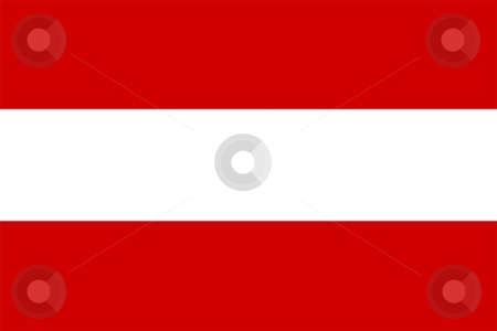 Austria Flag stock photo, 2D illustration of the flag of Austria vector by Tudor Antonel adrian