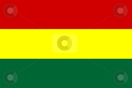 Bolivia Flag stock photo, 2D illustration of the flag of Bolivia vector by Tudor Antonel adrian
