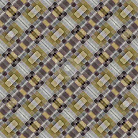 Abstract metallic blocks pattern stock photo, Abstract seamless texture of gold and silvery textured squares by Wino Evertz