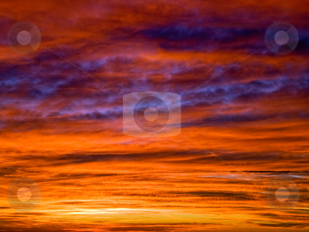 Cloudscape at the sunset stock photo, Cloudscape at the sunset usable for natural background... by Sinisa Botas