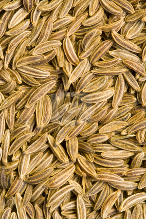 Caraway Seeds stock photo, A close-up of a lot of caraway seeds by Petr Koudelka